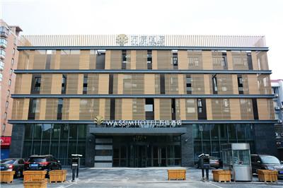 上海浦东川沙地铁站万信酒店
